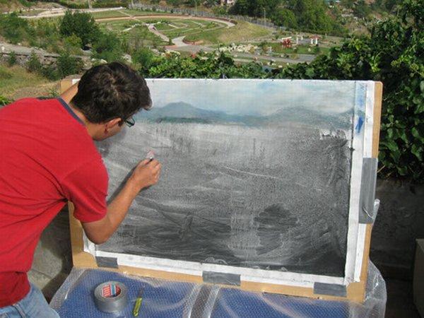 Nouă artiști plastici, la cea de-a  șaptea  ediție a Simpozionului Internațional de Arte Vizuale ARTA ÎN GRĂDINĂ