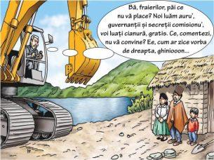 Tehnocratizarea, cianura și românii de rând