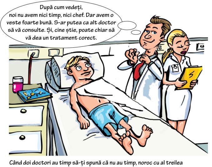 Durerea în cot a unor medici. Sau circuitul bolnavului în sistemul medical