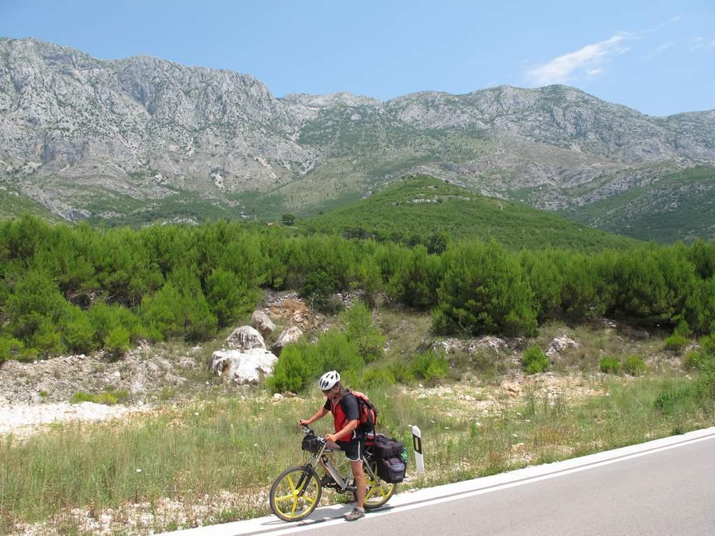 pe_bicicleta_Croatia_muntele_Biokovo_1