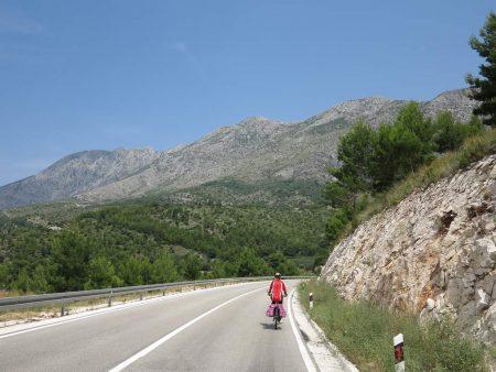 pe_bicicleta_Croatia_muntele_Biokovo_2