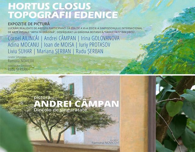 Luni - 9 octombrie: Două expoziții de pictură, două vernisaje
