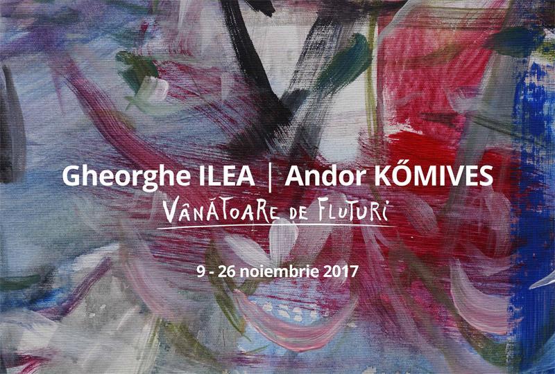 """Muza Fest continuă cu expoziția pictorilor Gheorghe Ilea și Andor Kὅmives -  """"Vânătoare de fluturi"""""""