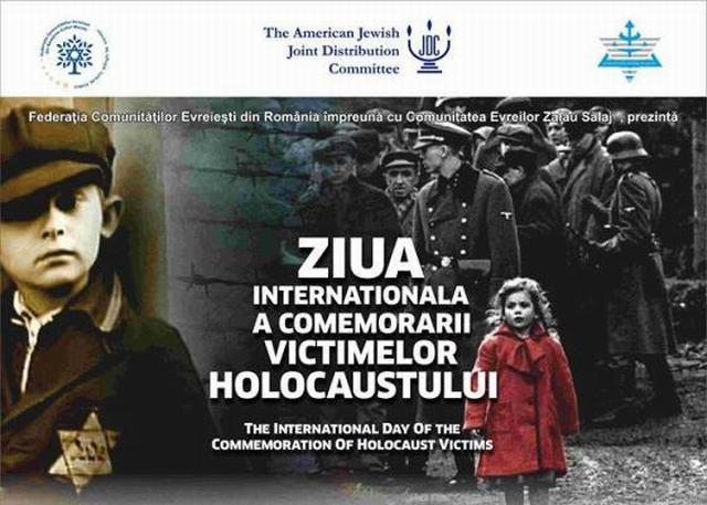 """""""Ziua Internaţională a Comemorării Victimelor Holocaustului"""" aduce la Zalău invitaţi de seamă"""