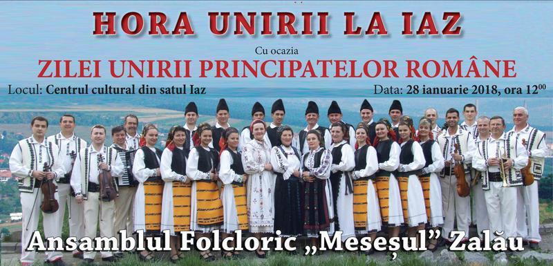 Hora Unirii, la Centrul cultural din satul Iaz
