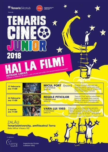 Sâmbătă cu film pentru copii, la Zalău