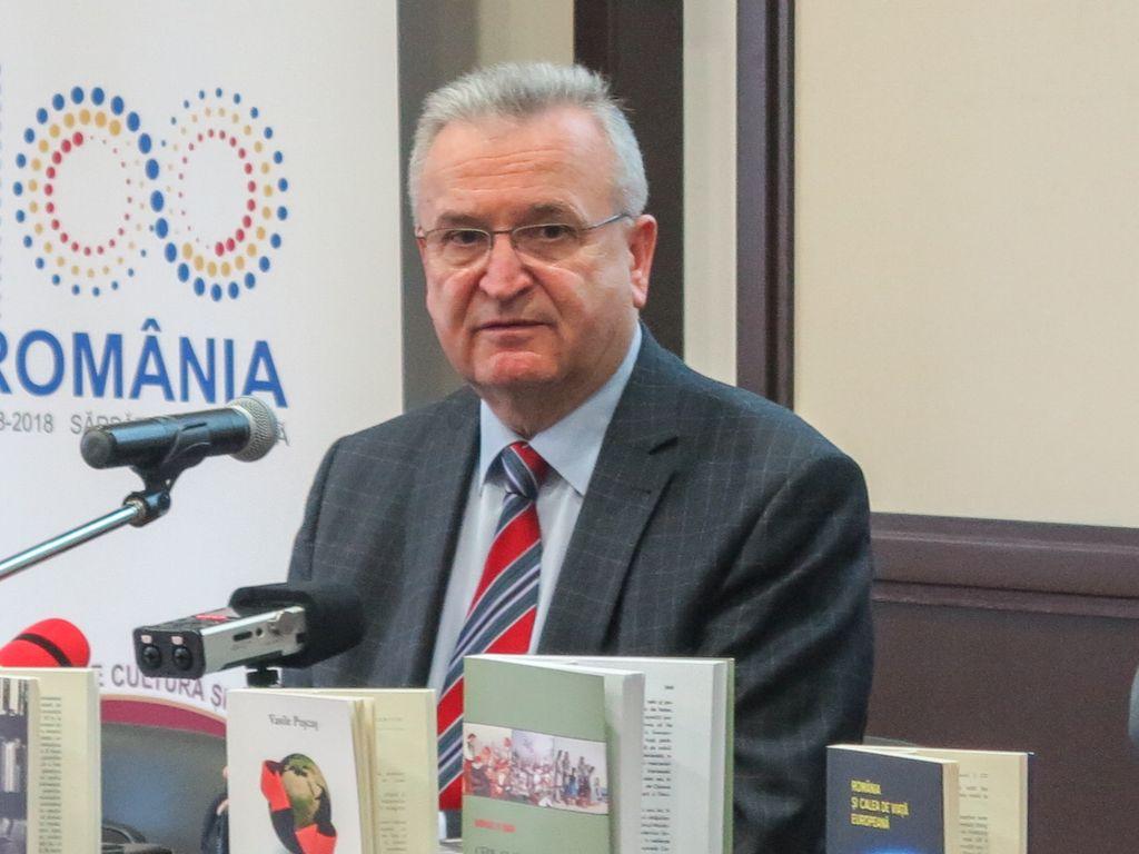 """Prof. univ.Vasile Pușcaș, la Zalău:""""Realizarea Unirii nu a fost o cale presărată cu petale de trandafiri, pe care au mers ardelenii, bucovinenii și basarabenii"""""""