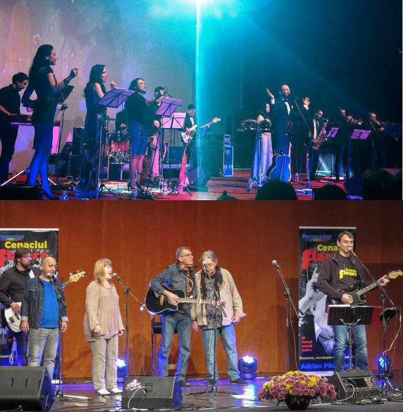 Cristi Aldea Teodorovici și orchestra urcă pe scenă, la Șimleu Silvaniei, alături de Cenaclul Flacăra