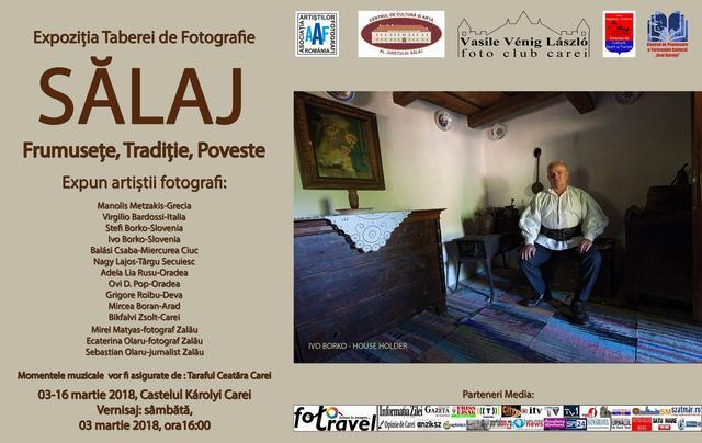 """Expoziția de artă  fotografică Sălaj """"Frumusețe, Tradiție, Poveste"""" ajunge la Castelul Károlyi din Carei"""