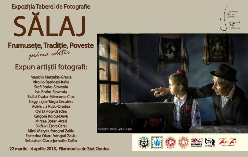 """Expoziția de artă fotografică Sălaj """"Frumusețe, Tradiție, Poveste"""" la Filarmonica de Stat Oradea"""
