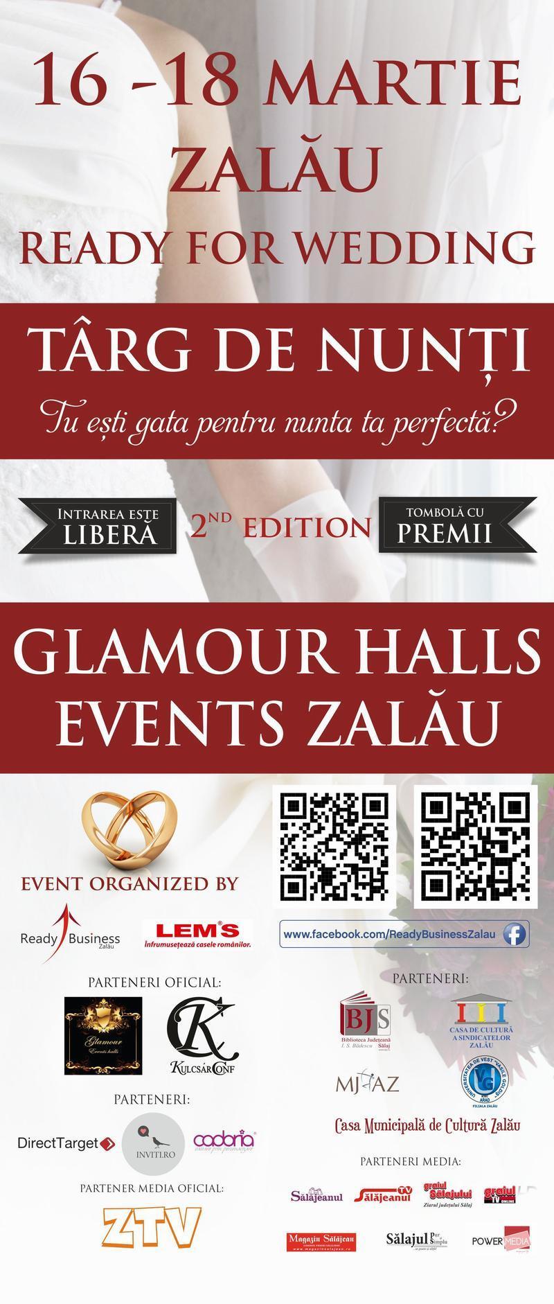 Participă și tu la cel mai mare târg de nunți din Sălaj, Ready for Wedding