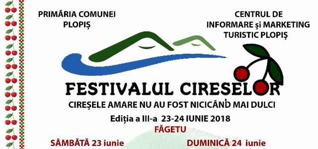 Festivalul Cireșelor de la Făgetu, două zile cu muzică și voie bună