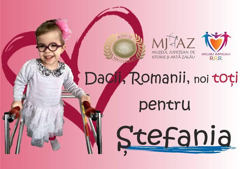 Dacii, romanii, noi toți pentru Ștefania