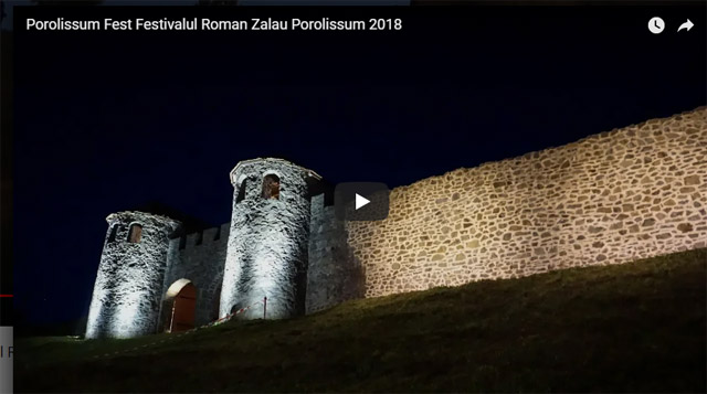 Porolissum Fest Festivalul Roman Zalău-Porolissum, 30 iunie - 1 iulie 2018