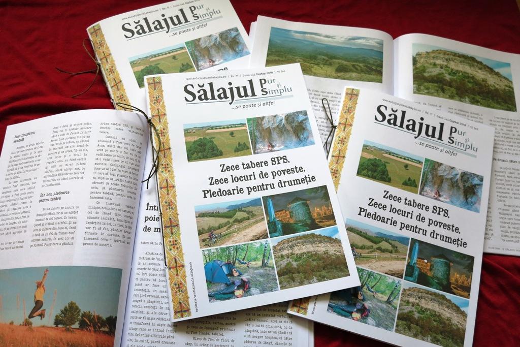Descoperă Sălajul neștiut, în zece tabere, zece aventuri,  zece locuri de poveste, cu revista Sălajul pur și simplu