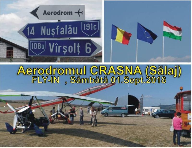 Zi de zbor româno- maghiară de pe Aerodromul Crasna