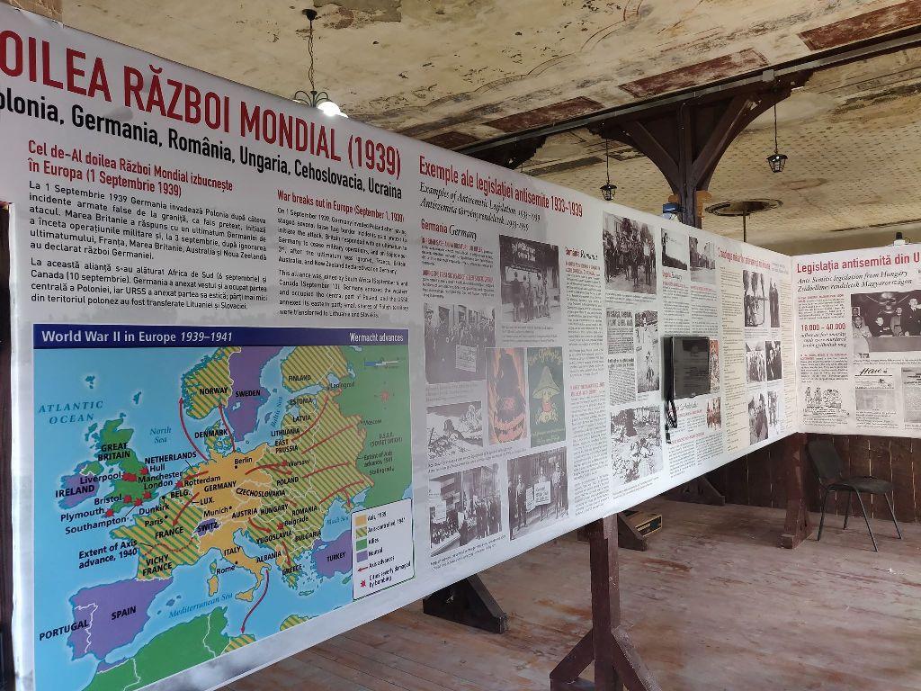 Expoziție interactivă la Muzeul Holocaustului  din Șimleu Silvaniei