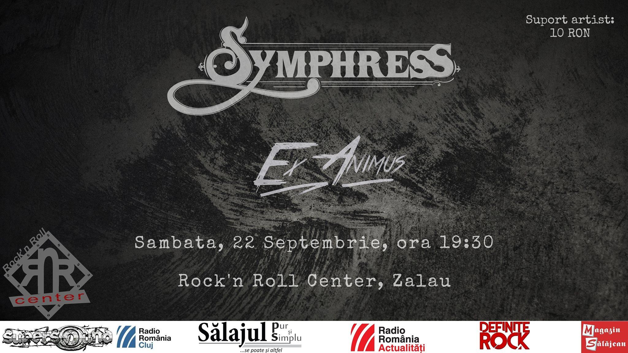 Symphress din Cluj-Napoca și Ex Animus din Bistrița în concert la Zalău