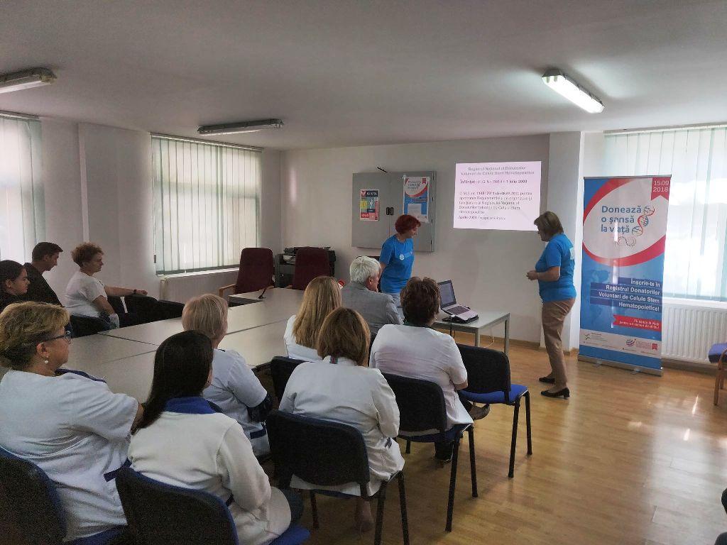 Directorul CNIPT Șimleu Silvaniei a donat sânge de Ziua Mondială a Donatorilor Voluntari de Celule Stem
