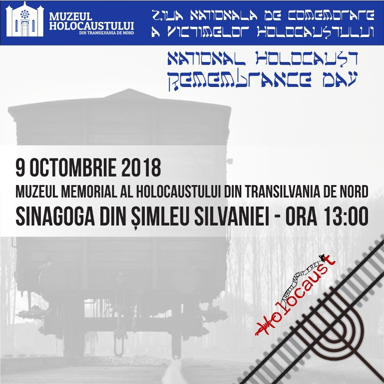 Ziua Comemorării Holocaustului în România, marcată la Şimleu Silvaniei
