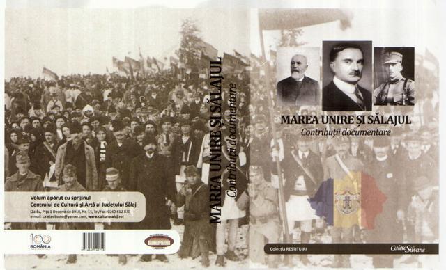 """Lansare de carte: """"Marea Unire și Sălajul. Contribuții documentare"""""""