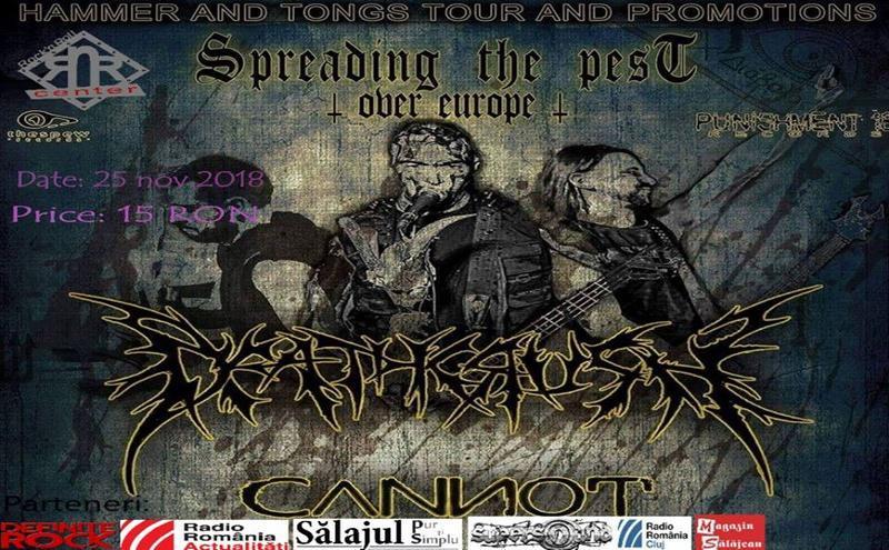 Regal italian de brutal death metal cu Deathcrush şi Cannot în Rock'N Roll Center Zalău