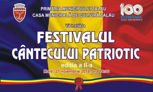 Festivalul cântecului patriotic, la Zalău