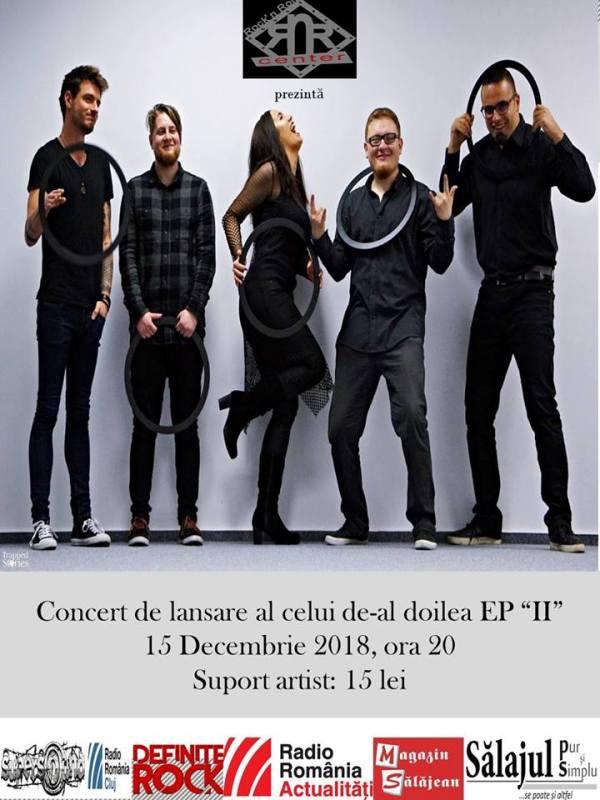 """Trupa Cantellion își lansează  videoclipul  """"Lume palidă"""" în Rock'N Roll Center Zalău"""