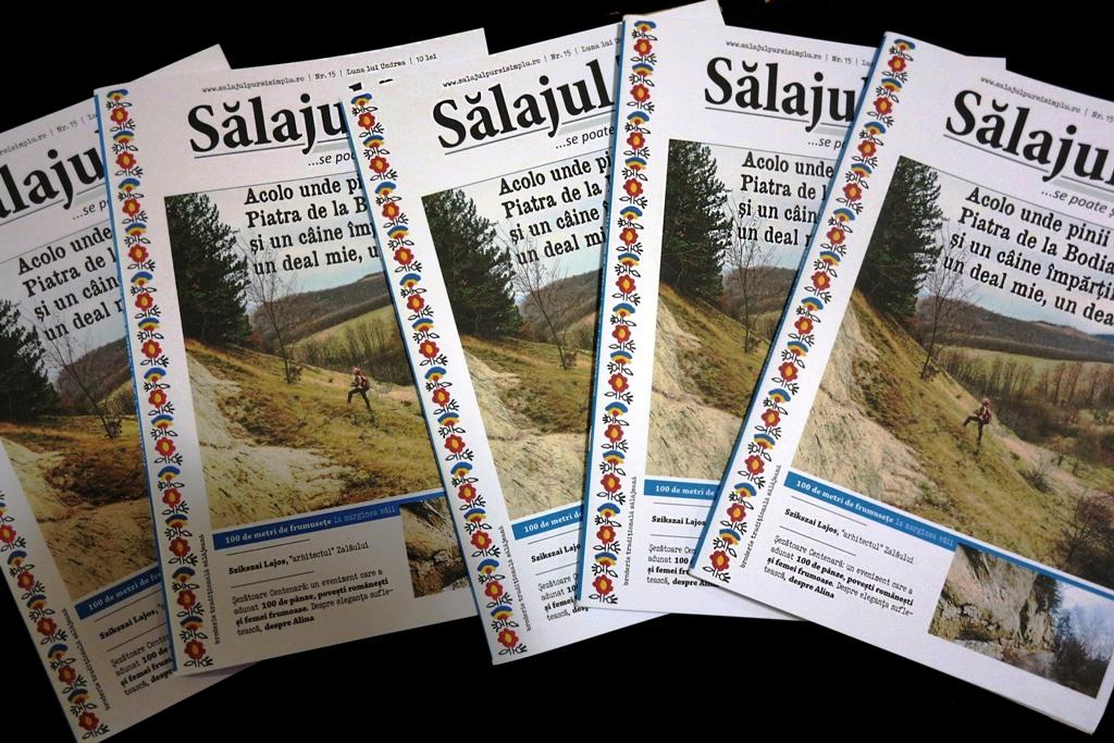 A apărut numărul lunii lui Undrea(15) al revistei Sălajul pur și simplu