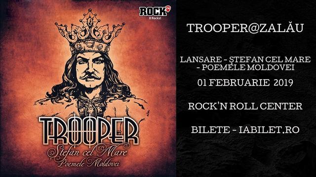 Lansare de album Trooper,  în Rock'n Roll Center din Zalău