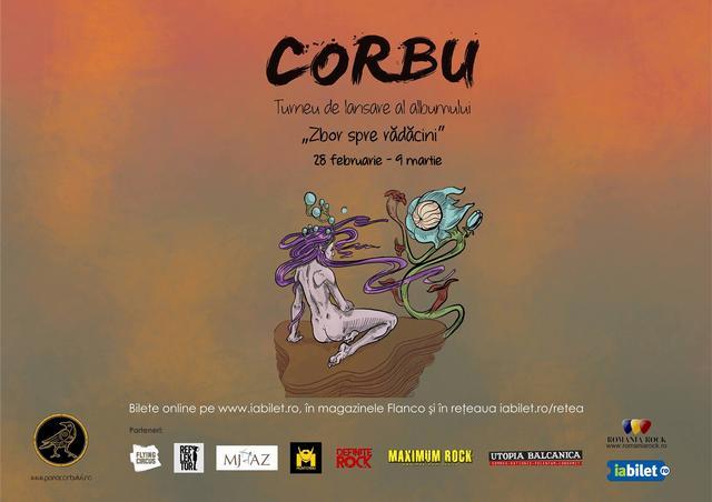 Corbu își lansează primul album, la Zalău