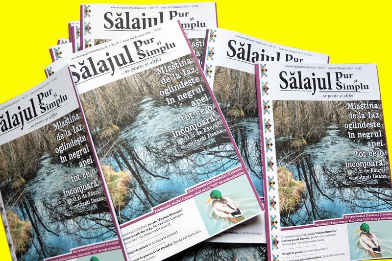 A apărut numărul lunii Februarie al revistei Sălajul pur și simplu