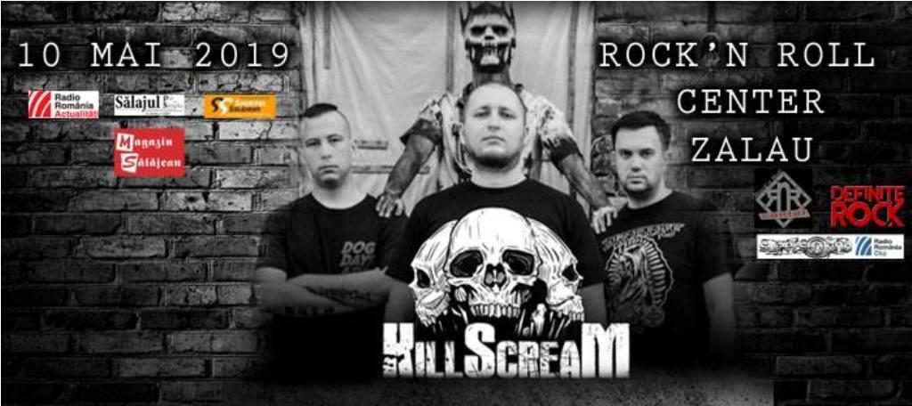 Concert Killscream- Ucraina în Rock'N Roll Center Zalău