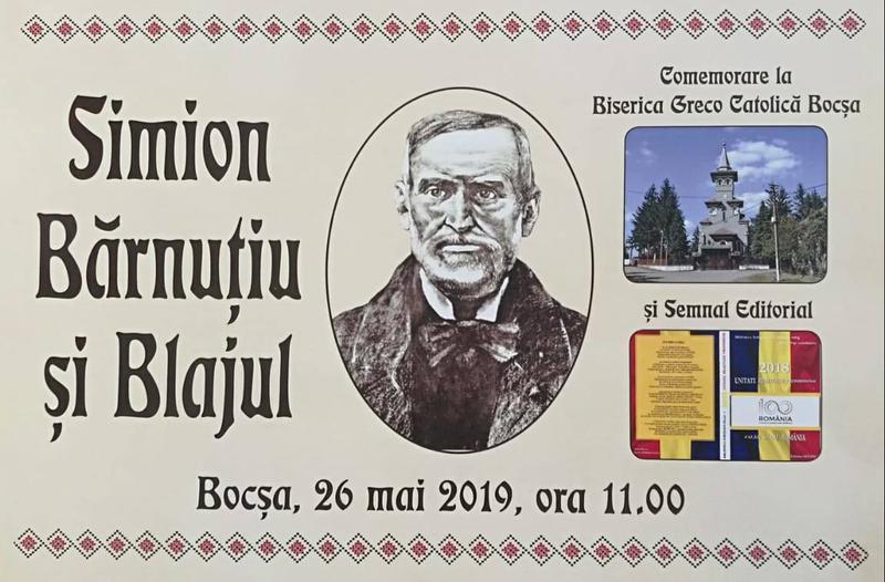 Comemorare la Bocșa - Simion Bărnuțiu, 155 de ani de la trecerea la cele veșnice
