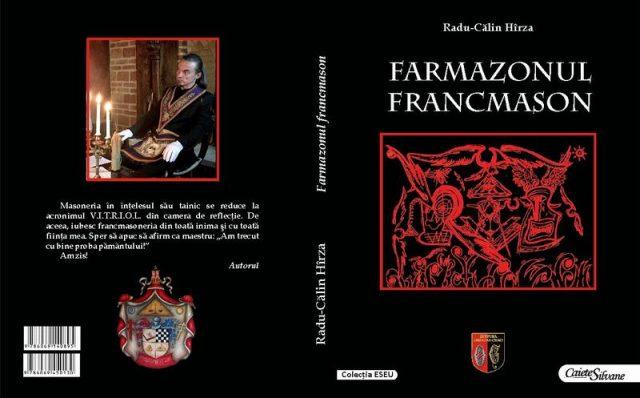 """Călin Hîrza își lansează cartea """"Farmazonul francmason"""""""