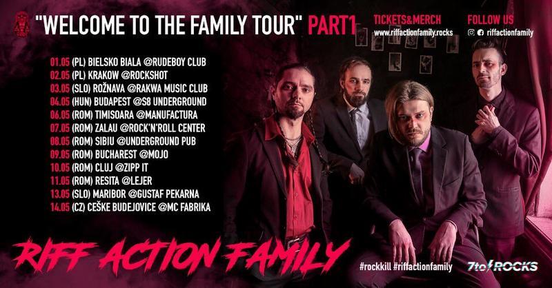 Riff Action Family din Rusia concertează la Zalău