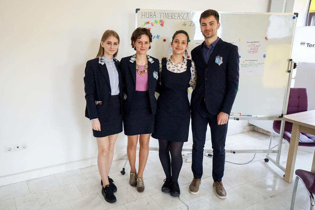 Despre implicarea tinerilor în comunitate: Club IMPACT LEGO CNS Zalău