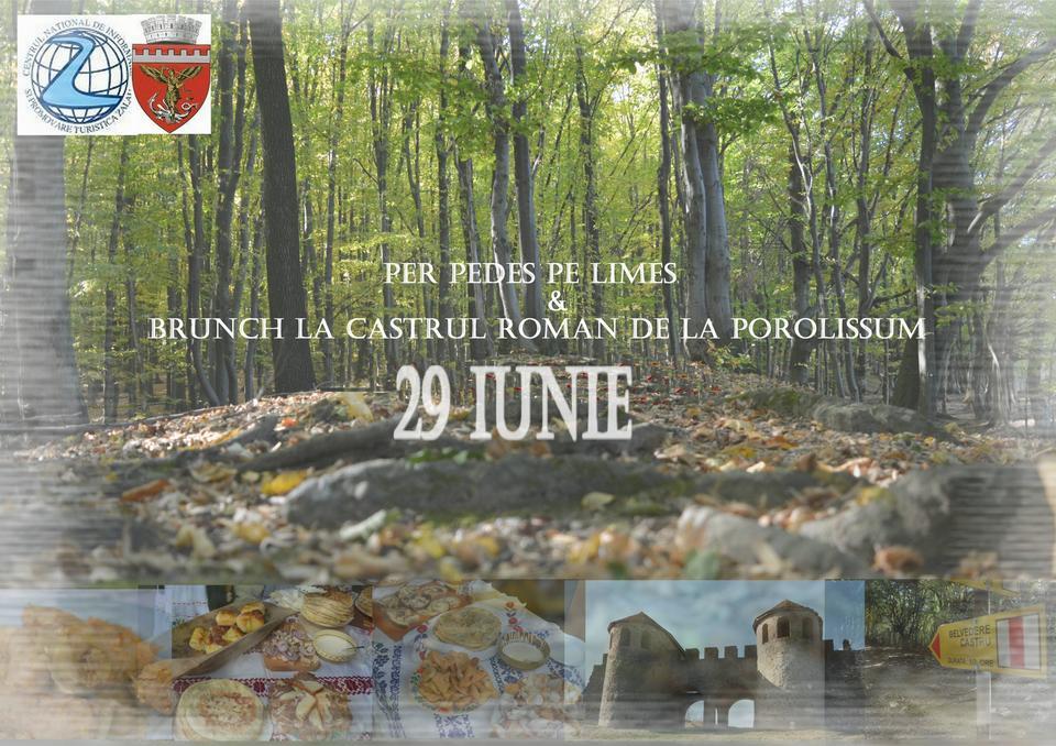 """Excursie """"Per pedes"""" pe limes-ul roman și Brunch la Castrul Roman de la Porolissum"""
