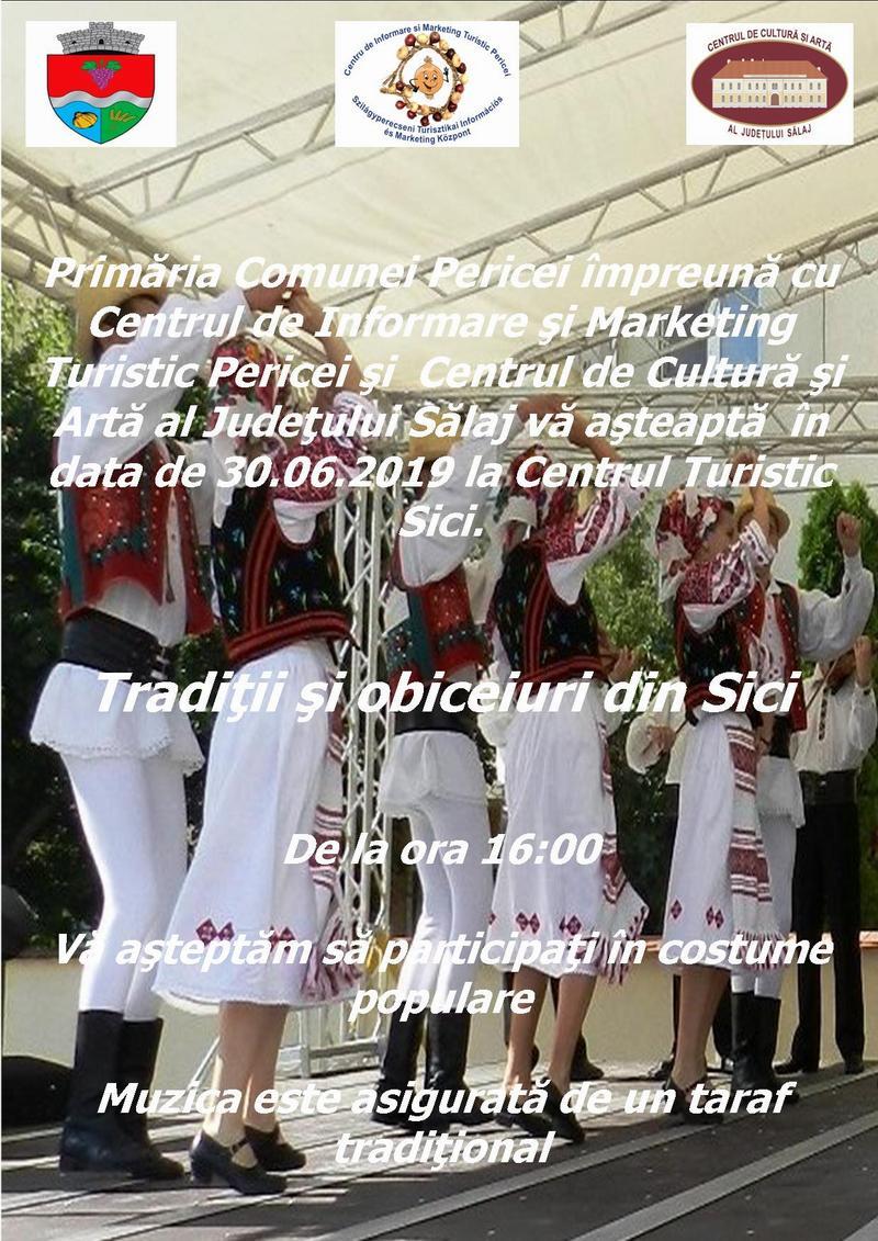 Tradiții și obiceiuri din Sici