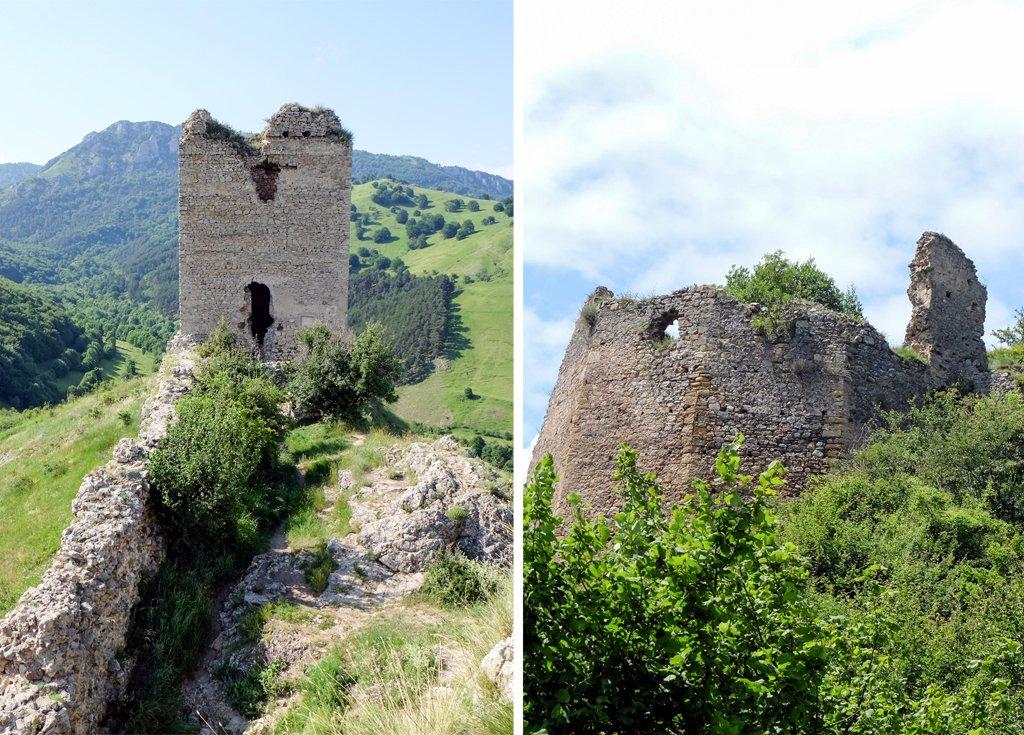 Cetatea Torockó (Trascăului) și Cetatea Liteni, două dintre cele mai frumoase obiective turistice din Transilvania