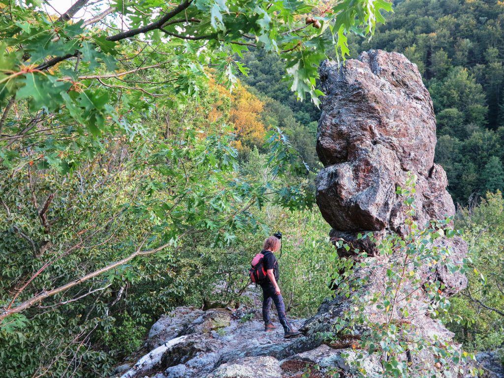 Sfinxul de pe Colinele Halmășdului. Două nopți lângă Valea Mare