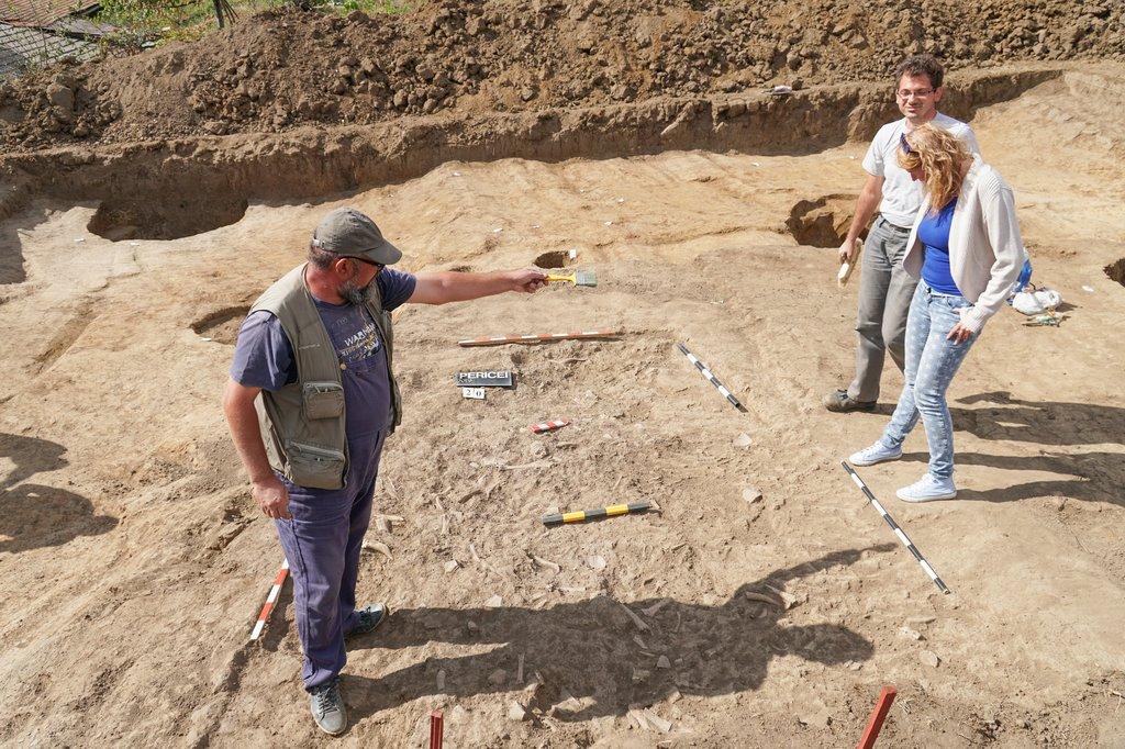 Dovadă arheologică a așezării dacilor liberi, la Pericei, în Sălaj: Atelier de prelucrare a cornului de cerb