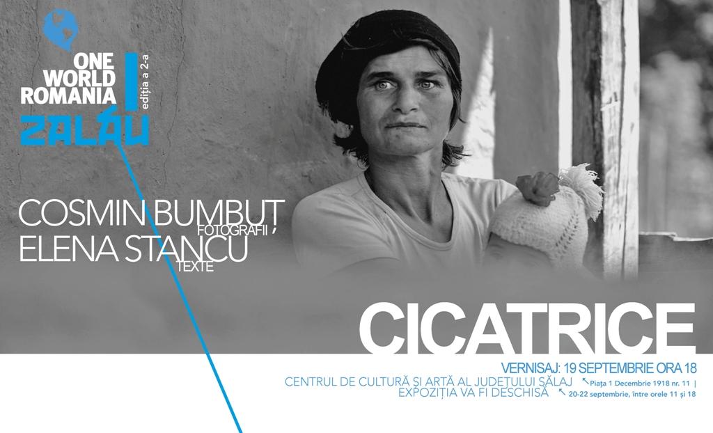"""Expoziția de fotografie """"Cicatrice"""", de Cosmin Bumbuț și Elena Stancu la Zalău"""