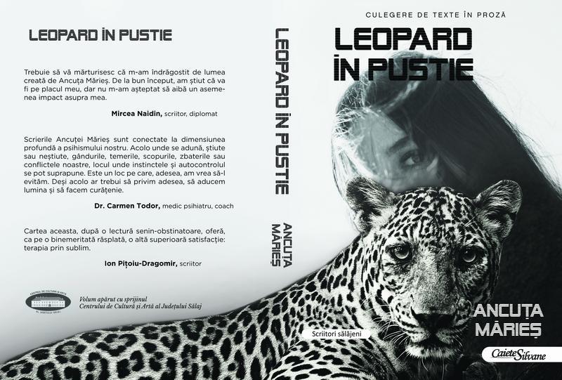 """Ancuța Mărieș își lansează cartea """"Leopard în pustie – culegere de texte în proză"""""""