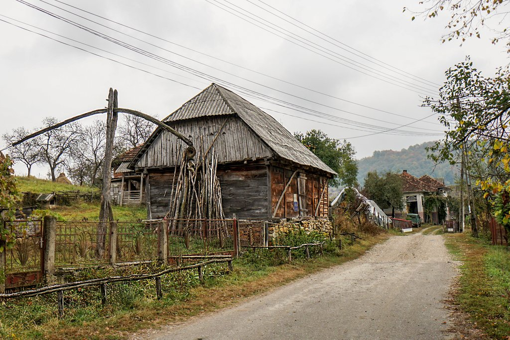 Toamna pe ulița satului