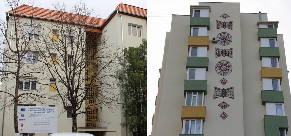 Blocurile de locuințe Gulliver și L din municipiul Zalău au fost reabilitate termic. Lucrările la blocul A96, aproape de final