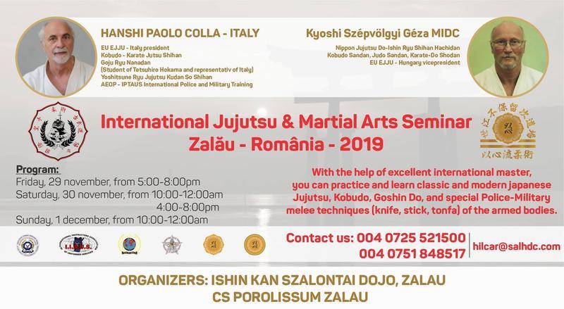 Seminar internațional de arte marțiale, la Zalău