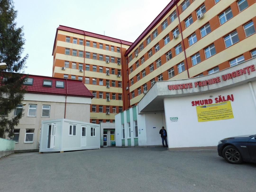 Spitalul Județean de Urgență Zalău și Spitalul Orășenesc Șimleu Silvaniei, spitale suport pentru Covid-19