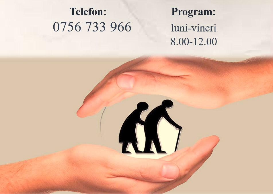 Direcția de Asistență Socială Zalău și Crucea Roșie Sălaj sprijină persoanele vârstnice
