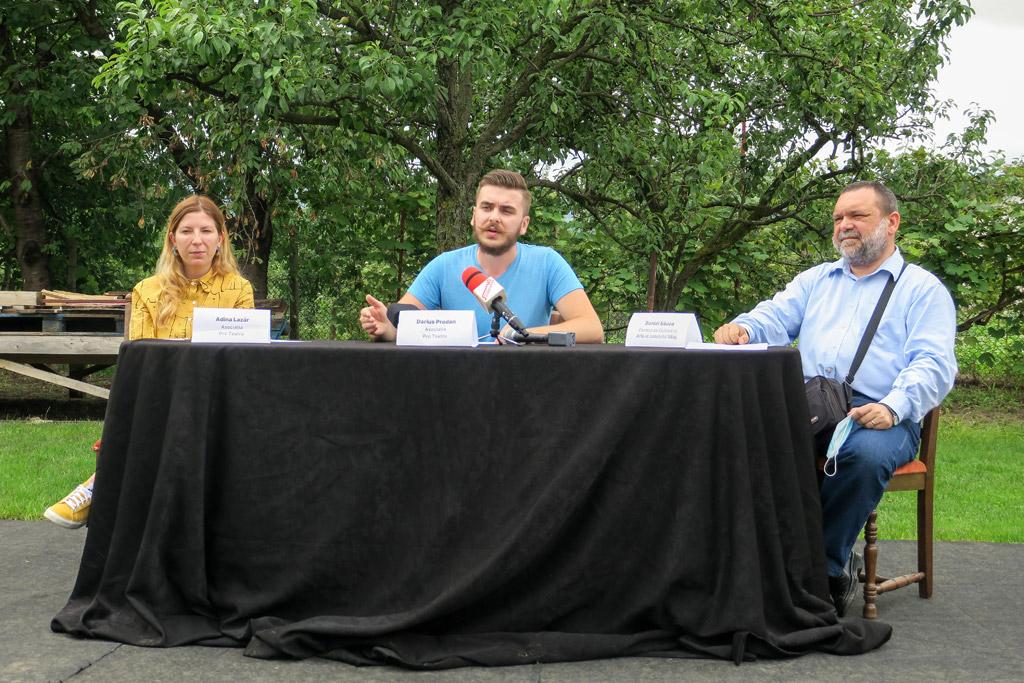 """Occupy Zalău Cultural: Curtea Artiștilor, o soluție pentru cultură în condiții de distanțare socială. """"Începem să punem Zalăul pe harta teatrului"""""""